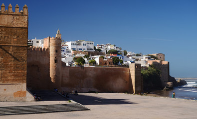Morocco. The Kasbah of the Oudayas in Rabat