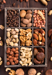 Box of nuts