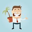 business mann palme