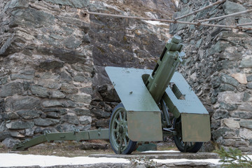 italian wheeled howitzer used in second world war