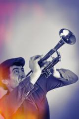 Vintage Trumpet Blast