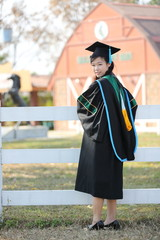 The girl in Graduation day