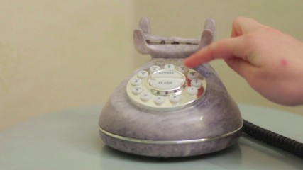 Lifting the telephone