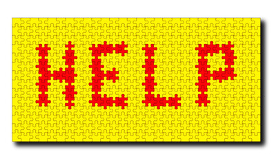 HELP puzzle