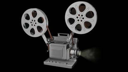Movie Projector Animation Loop