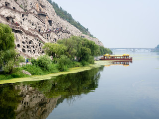Yi River and Longmen Grottoes