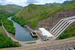 Dam and river