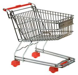 Shopping Trolley Cutout
