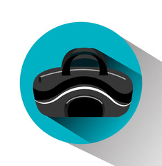 Bag design, vector illustration.