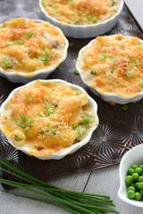 Gluten free tuna penne casserole