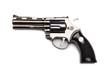 Handgun isolated on the white background