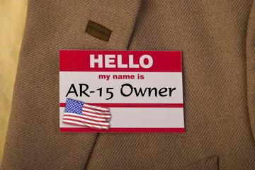A-15 Gun Owner.