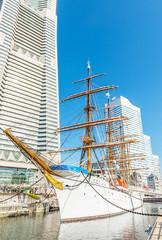 Nippon Maru in Yokohama, Japan