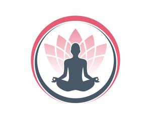 Meditation People Lotus 1