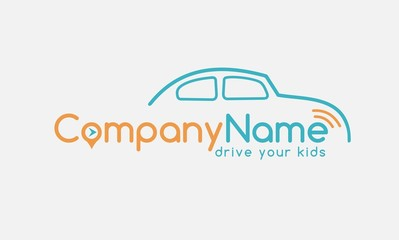 simply driver company logo design