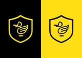 duck fly logo