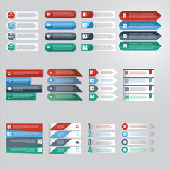 Vector of infographic element icon for Business