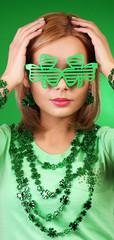 St Patrick's day Girl