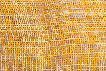 bamboo weave on white background