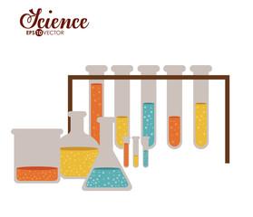 Science design, vector illustration.