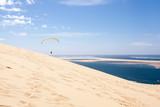 parapente sur la dune du pilat en aquitaine