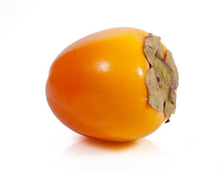 Persimmon. Clipping path included.