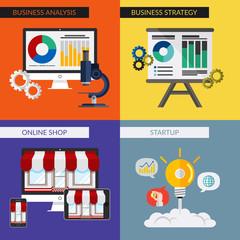 Flat Design Visualization - Business & Marketing 2