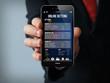 gambling businessman smartphone
