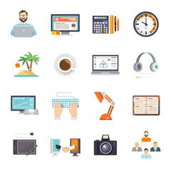 Freelance Icon Flat
