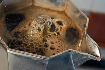 Coffee comes from moka