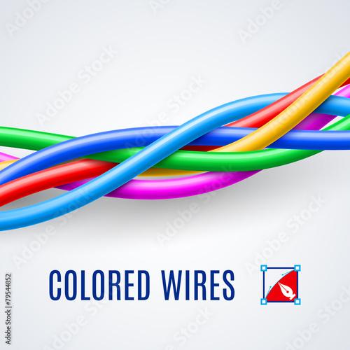 Interwoven plastic wires - 79544852
