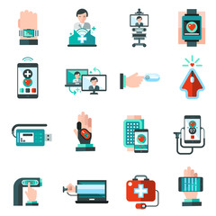 Digital Medicine Icons