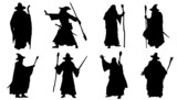 mage silhouettes