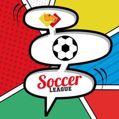 soccer desing vector illustration.