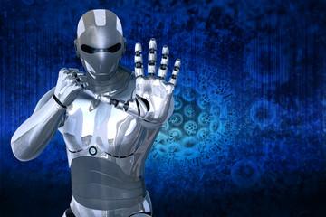 Robot defend