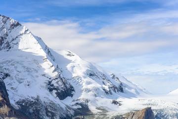 Mountain view of  Franz Josefs Hohe Glacier, Austria
