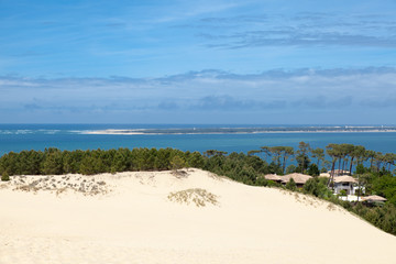 Dune du pilat en aquitaine