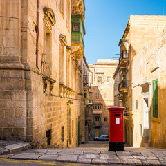 Rue à La Valette, Malte