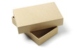 Leinwandbild Motiv Open Packaging Box