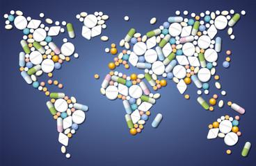 Pills Medicine Worldwide