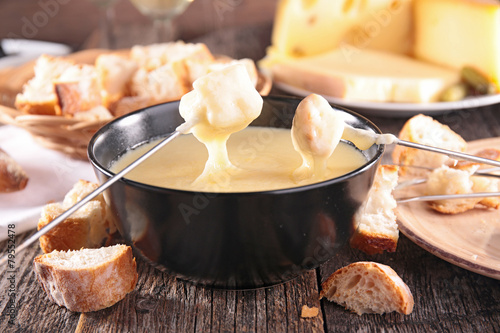 In de dag Zuivelproducten cheese fondue
