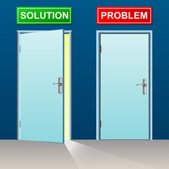 solution and problem doors