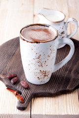 Hot drink cocoa