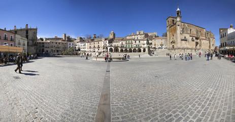 Plaza de españa, Trujillo , Caceres, Spain