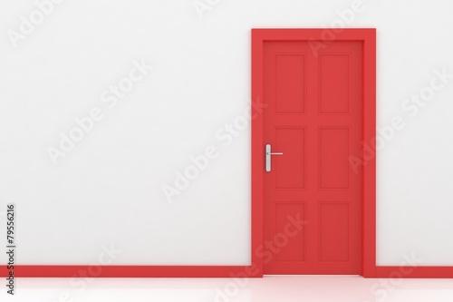 rendering of a door - 79556216
