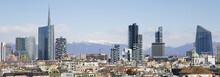 "Постер, картина, фотообои ""Milano, skyline"""