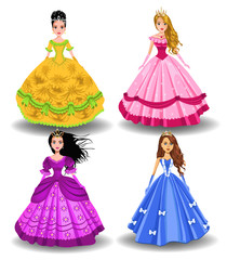 fairy tale doll princesses