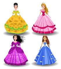 fairy tale doll princesses