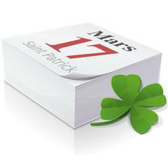 17 mars : Fête de la Saint-Patrick