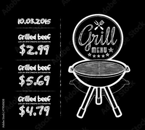 Barbecue grill - 79561638